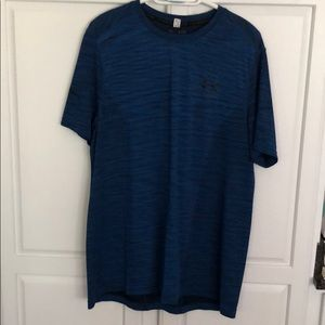 Under Armor Short Sleeve Blue t-shirt
